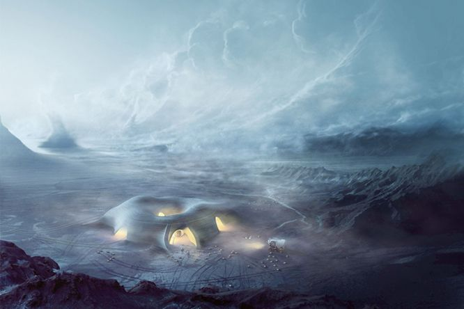 A New Kind of Inflatable Pod Could House Future Astronauts on Mars